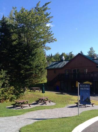 Notre Dame des Bois, Canadá: À l'entrée du parc