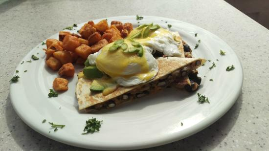 Quesadilla Benedict (Special) - Picture of Restaurant Brunch, Saint ...