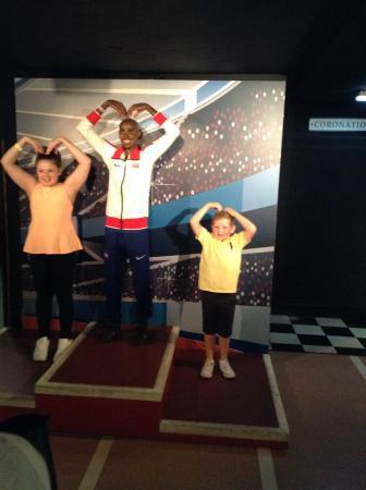 Madame Tussauds Blackpool: Kids with mo