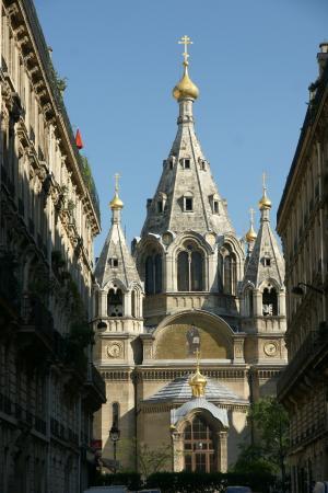 PARIS : Eglise Russe de Paris (Cathédrale Alexandre Nevsky).