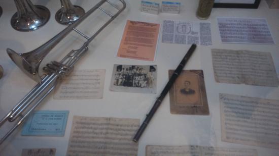 Exposição sobre a Banda Municipal de Itaguara