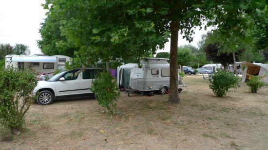 Francueil, ฝรั่งเศส: Camp site