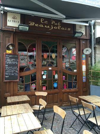 Le Pot Beaujolais : Le restaurant