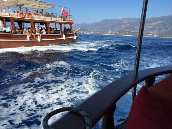 Dennis Boat - Private or Daily Tours: yolculuk baslasinnn 😃⛵️⛵️