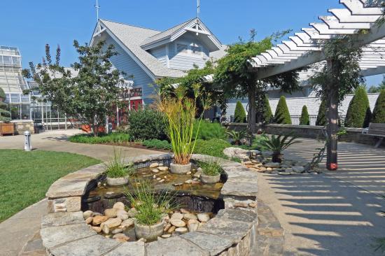 The North Carolina Arboretum: Near The Greenhouse