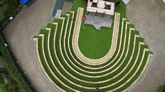 Brighton Open Air Theatre (B.O.A.T): Aerial 2