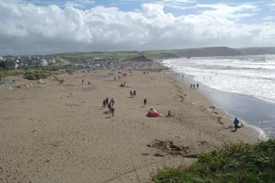 Widemouth Bay Beach