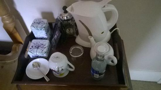 Pendragon Country House: Tray of drinks in Kay