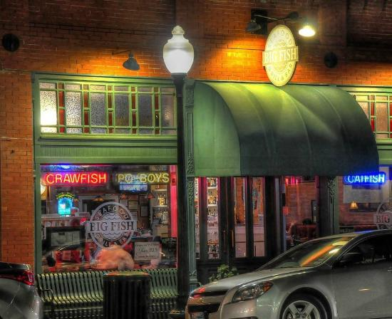 Big Fish Seafood Grill & Bar : We're located in downtown historic Grapevine,TX