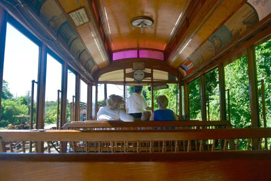 The Car Barn, streetcars undergoing restoration - Picture ...