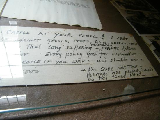 Chillingham Castle: I hear Casper the friendly ghost vacated the castle after reading this....
