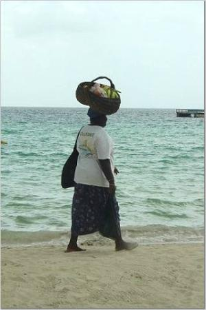 Alfred's Ocean Palace: Get Your Fruit From This Lady Who Is Always There!