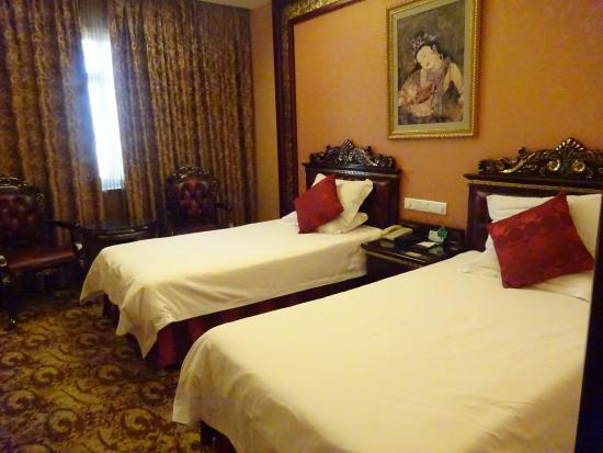 Sun Grand Hotel Dunhuang: 9階の部屋