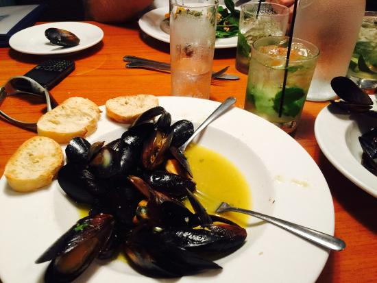 Salt Water Creek: Mussels amazing
