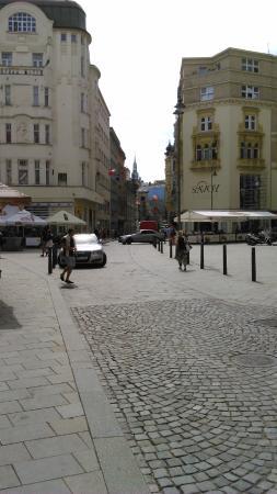 Brno, República Checa: Calle