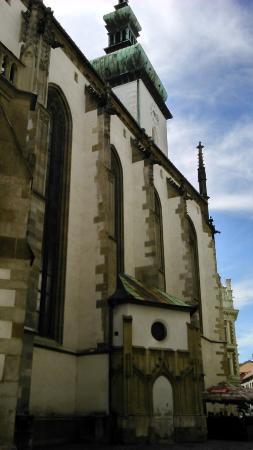 Brno, República Checa: Iglesia St. James