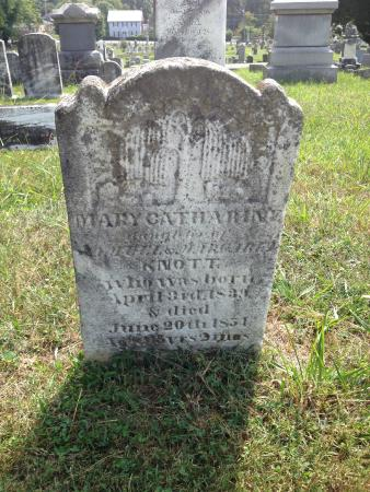 Shepherdstown, Virginia Occidental: Stylized Weeping Willow Tree on Catherine Knott's stone