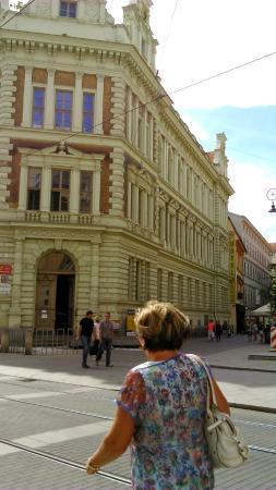 Brno, República Checa: Edificio del centro