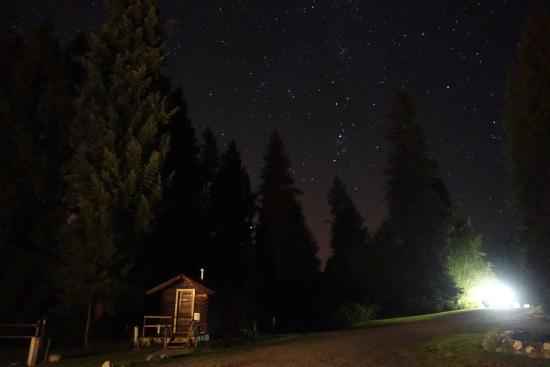 Colville, WA: Enjoy seeing the milky way at night