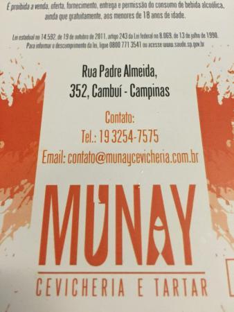 Munay Cevicheria E Tartar