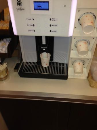 Comfort Hotel Yamagata: ウエルカムコーヒー