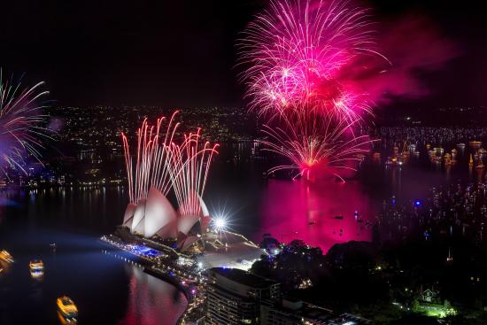 New Year's Eve, Sydney Harbour