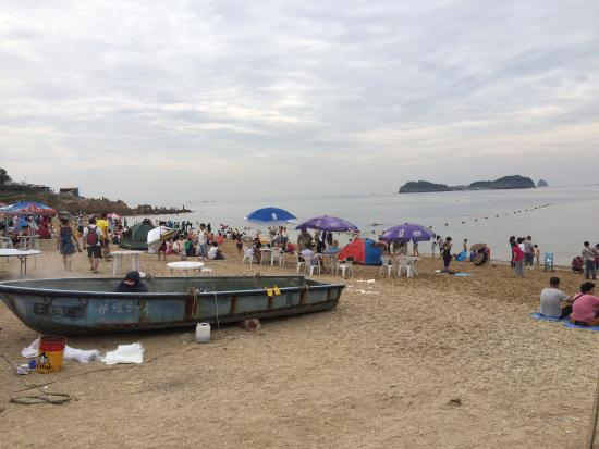 Golden Sandy Beach: Blick