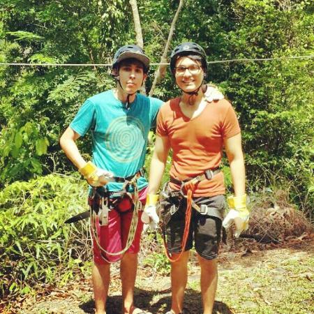 Panama Outdoor Adventures: el hermano y yo