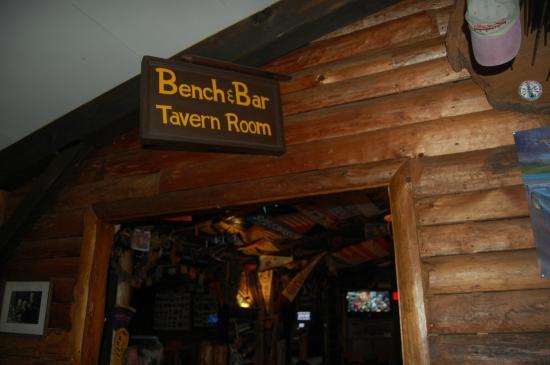 Bench Bar Seneca Lodge adjoins Restaurant