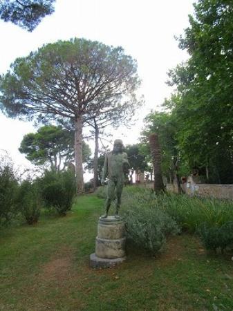 Villa Cimbrone Gardens: 庭園