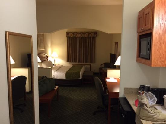 Comfort Suites South -- Amarillo: Hotel room
