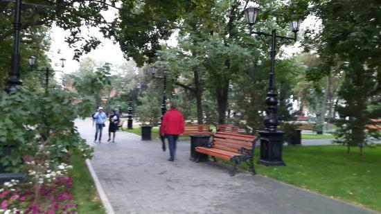 Сад Александра Матросова
