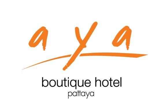 Guest room photo de aya boutique hotel pattaya for Boutique hotel logo