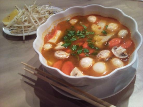 Vernon, Kanada: spicy soup - excellent!!!
