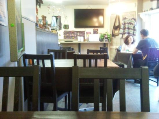 Lumby, Canadá: View from my table
