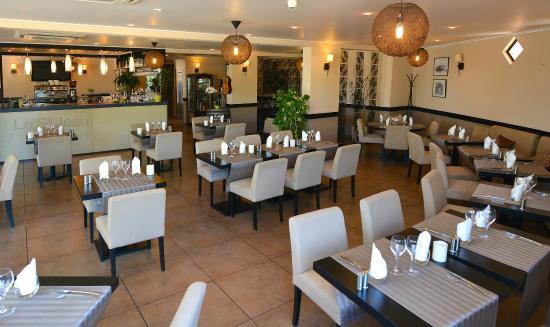 Hôtel Le Saint Jean : Salle de restaurant