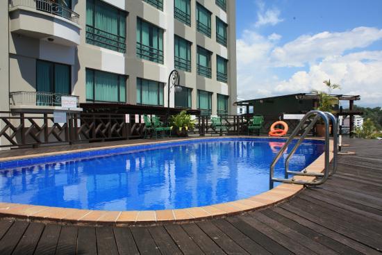 Swimming Pool Picture Of Sabah Oriental Hotel Kota Kinabalu