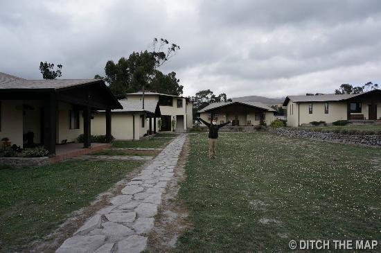 Chuquiragua Lodge & Spa: Outside the lodge