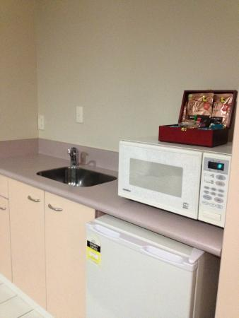 Harbour View Lodge : Kitchenette