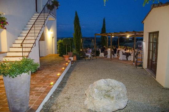 Montespertoli, إيطاليا: Bellissimo panorama