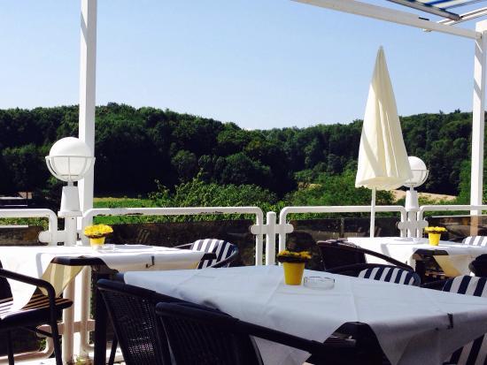 Hotel Windenreuter Hof: Terrasse