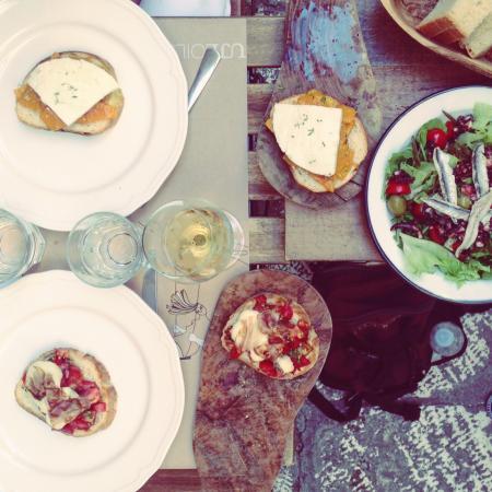 Splitska, Croacia: Petit repas sympa