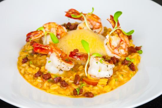 Prawn and chorizo risotto recipe for Spicy prawn risotto
