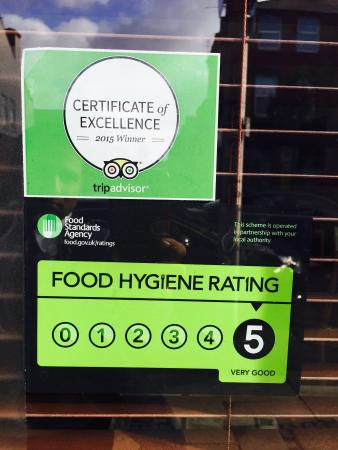 Food Hygiene Rating Picture Of Saffron Waterloo Liverpool