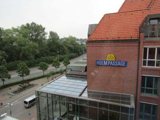 Ibis Budget Flensburg City: Aussicht aus dem Zimmer