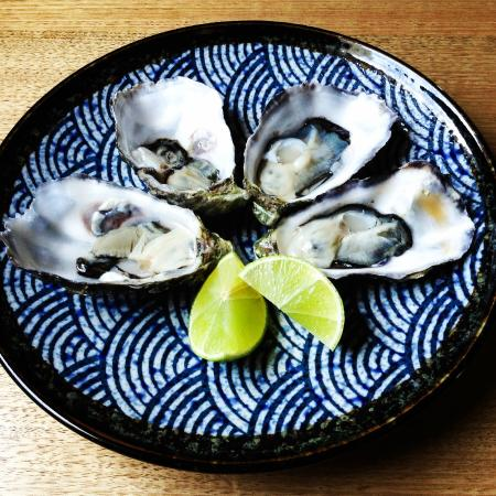 Telegraph Hotel Restaurant: Natural Oysters