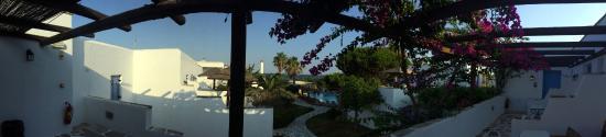 Alkyoni Beach Hotel: Vue de la chambre