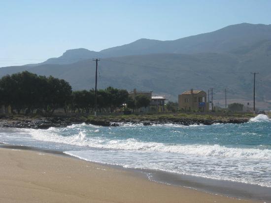 Hotel Apartments Gramvoussa Bay: Il mare davanti l'hotel