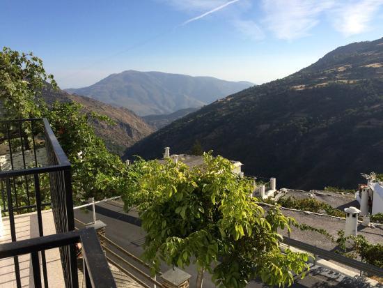 Hostal Rural Atalaya: Blick vom kleinen Balkon Richtung Tal