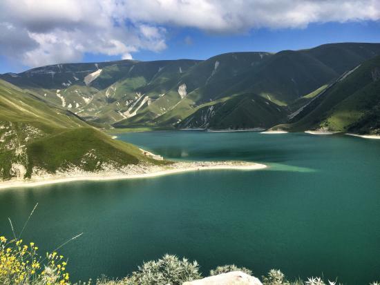 Chechnya, Russland: озеро Кезеной-Ам